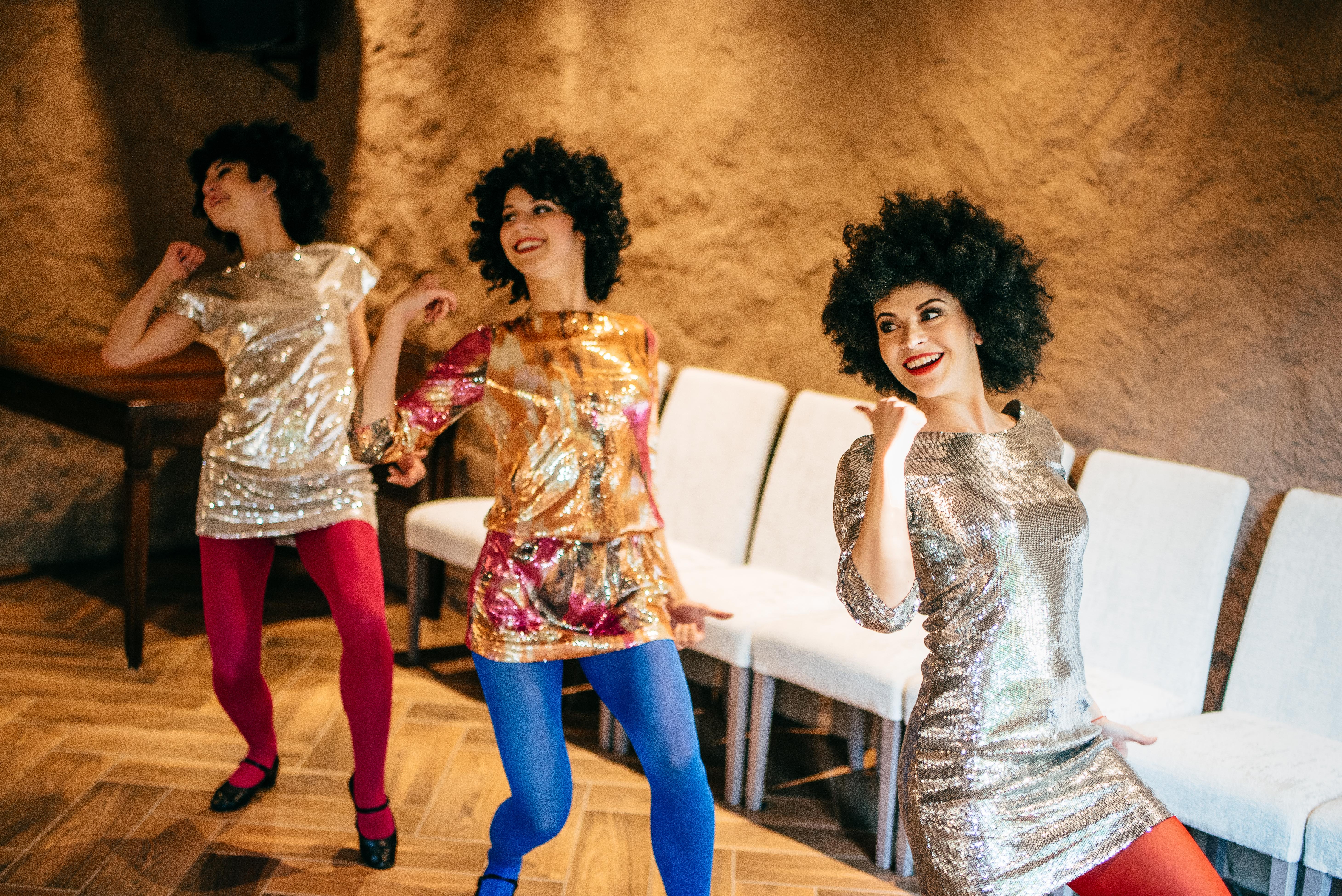 """""""Dolce Vita"""" šokių šou programa jauniesiems vestuvių proga: disko šokis 2"""
