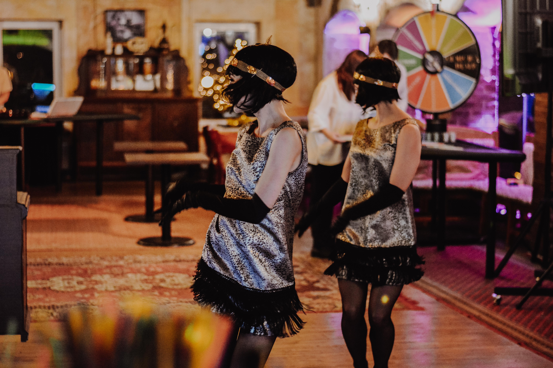 """""""Dolce Vita"""" šokių šou programa, pasirodymas įmonės vakarėlyje: čarlstonas 2"""