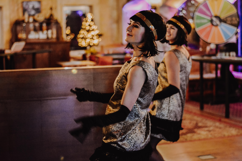 """""""Dolce Vita"""" šokių šou programa, pasirodymas įmonės vakarėlyje: čarlstonas"""