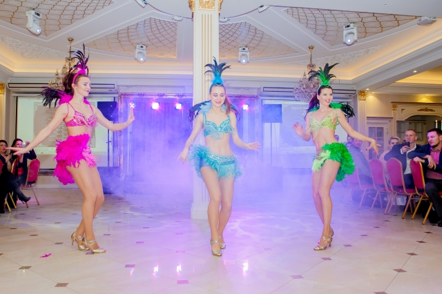"""""""Dolce Vita"""" šokių šou programa, pasirodymas: braziliškas šokis"""