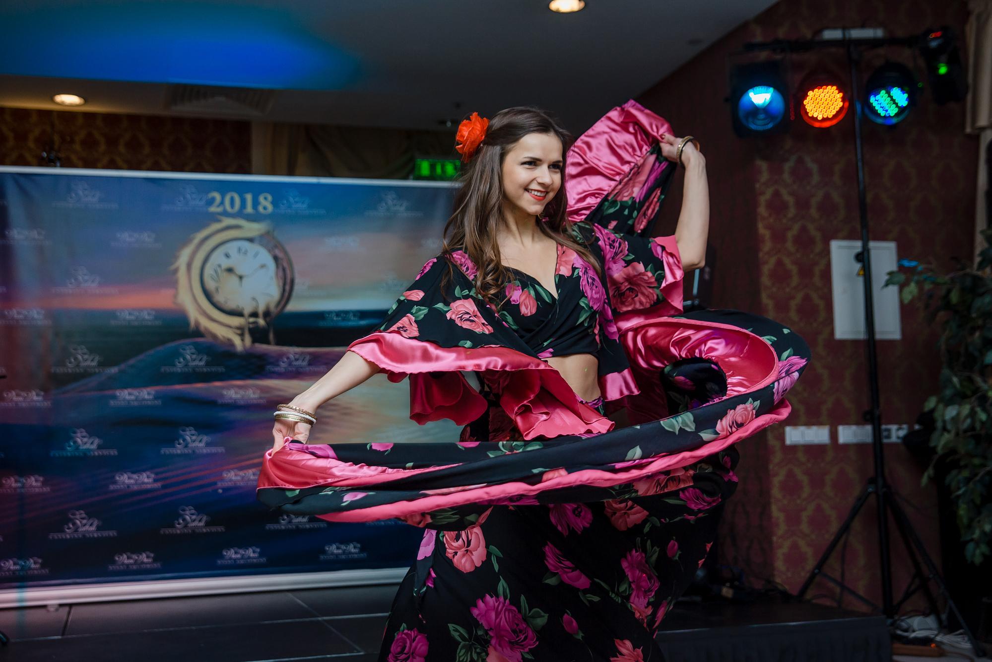 """""""Dolce Vita"""" šokių šou programa, pasirodymas: čigoniškas šokis 3"""