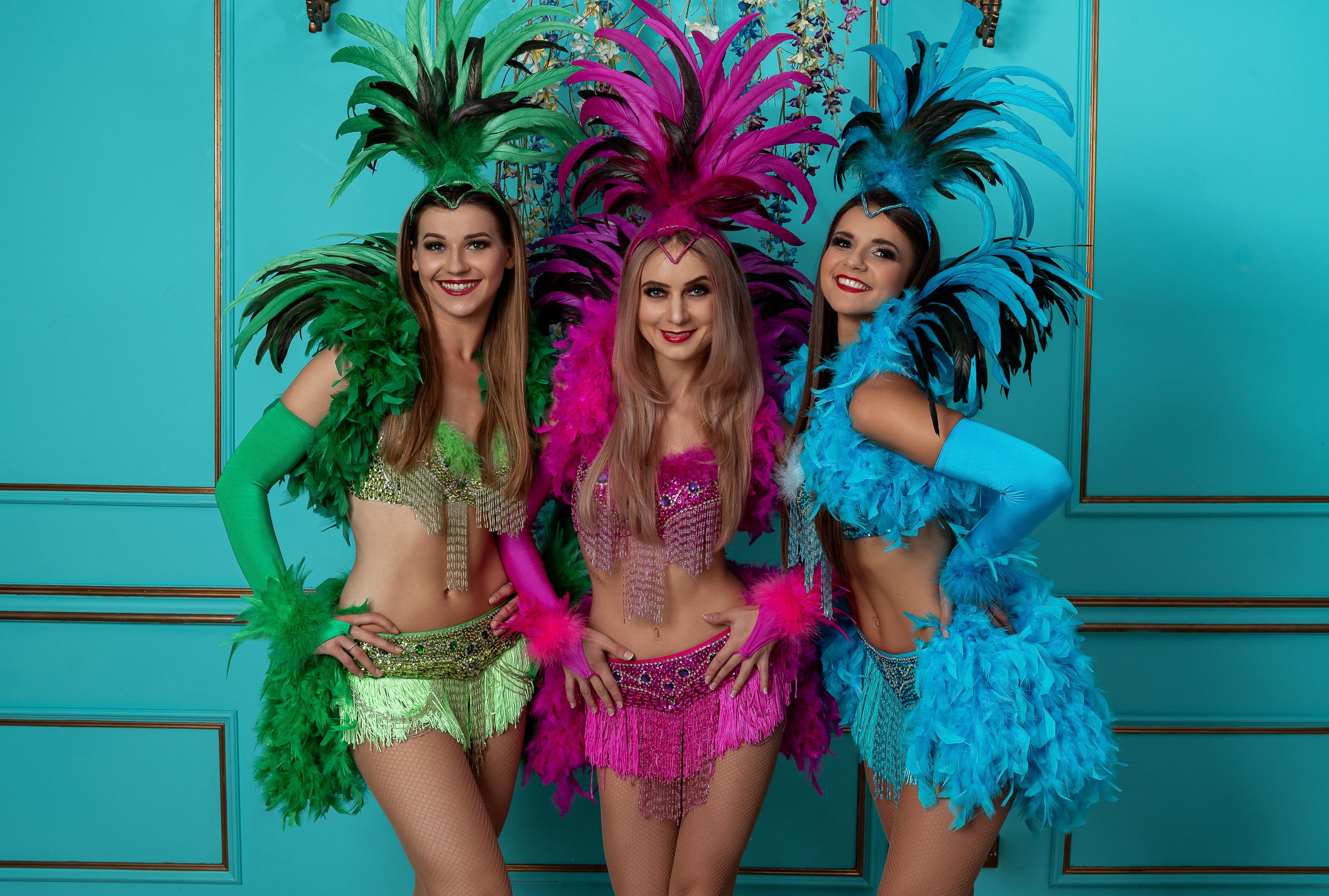 Šokių šou programa, pasirodymas vestuvėms, gimtadieniui, renginiams - braziliškas šokis